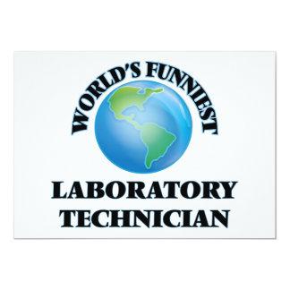 El técnico del laboratorio más divertido del mundo