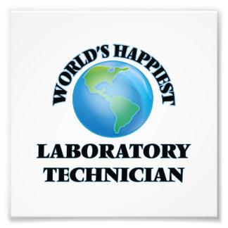 El técnico del laboratorio más feliz del mundo arte fotografico