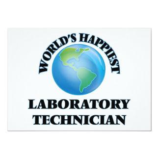 El técnico del laboratorio más feliz del mundo