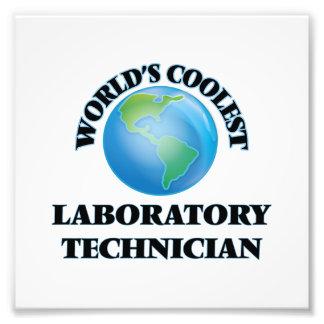 El técnico del laboratorio más fresco del mundo fotos