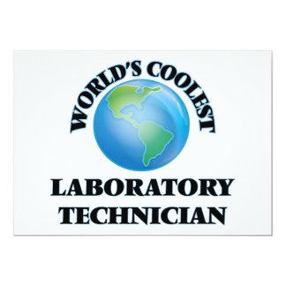 El técnico del laboratorio más fresco del mundo