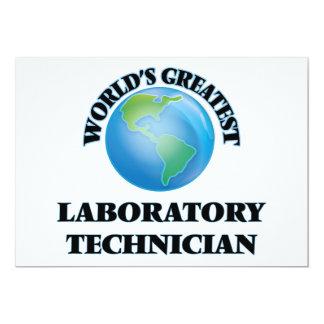 El técnico del laboratorio más grande del mundo