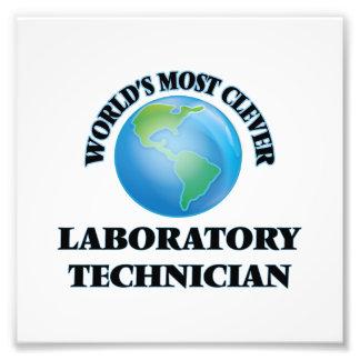 El técnico del laboratorio más listo del mundo impresiones fotográficas