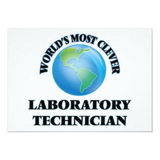 El técnico del laboratorio más listo del mundo