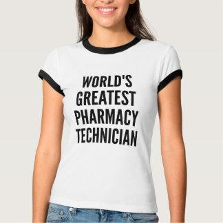 El técnico más grande de la farmacia de los mundos playera
