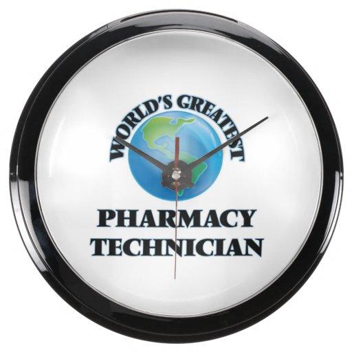 El técnico más grande de la farmacia del mundo reloj pecera