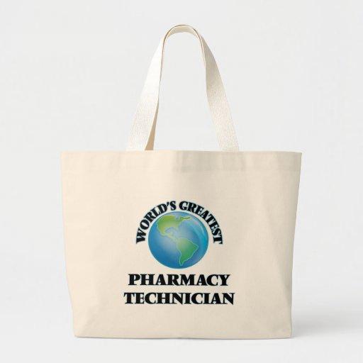 El técnico más grande de la farmacia del mundo bolsas