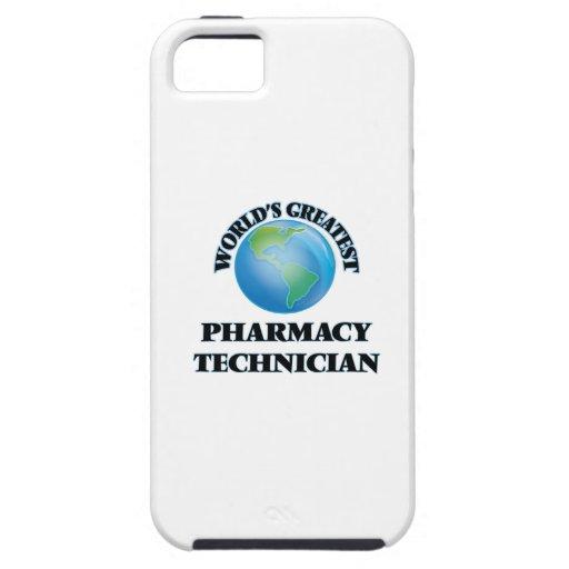 El técnico más grande de la farmacia del mundo iPhone 5 Case-Mate carcasas