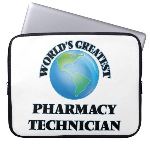 El técnico más grande de la farmacia del mundo fundas computadoras