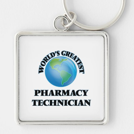El técnico más grande de la farmacia del mundo llavero