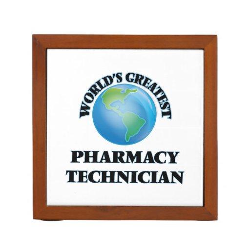 El técnico más grande de la farmacia del mundo