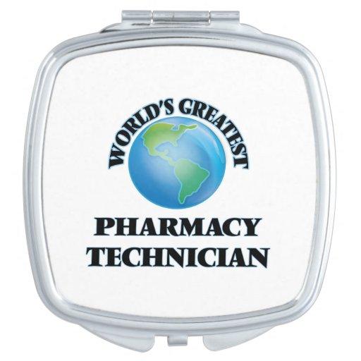 El técnico más grande de la farmacia del mundo espejo para el bolso