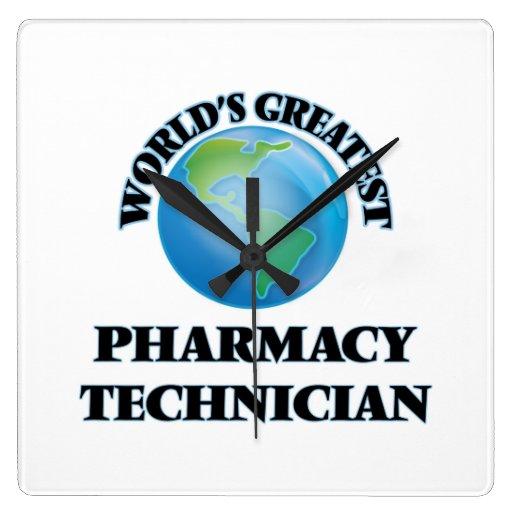 El técnico más grande de la farmacia del mundo reloj