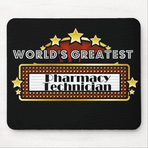 El técnico más grande de la farmacia del mundo tapete de ratón
