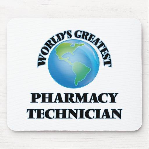 El técnico más grande de la farmacia del mundo tapete de ratones