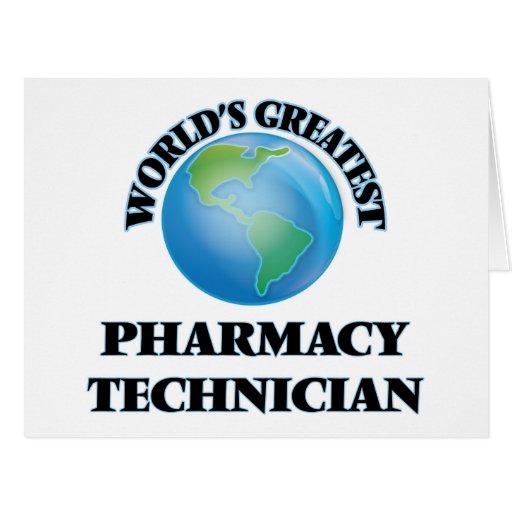 El técnico más grande de la farmacia del mundo felicitación