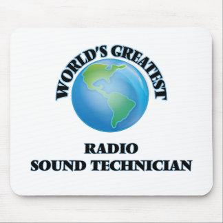 El técnico sano de radio más grande del mundo tapete de ratón
