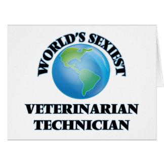 El técnico veterinario más atractivo del mundo felicitacion