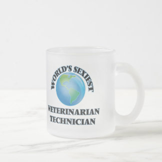 El técnico veterinario más atractivo del mundo taza de café