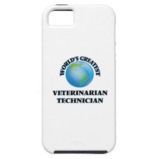 El técnico veterinario más grande del mundo iPhone 5 protectores