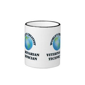 El técnico veterinario más grande del mundo taza de café