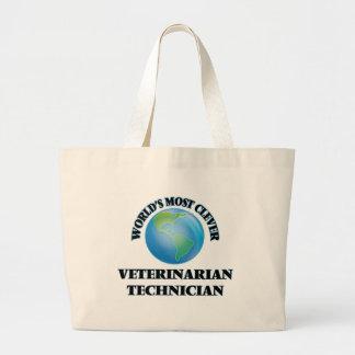El técnico veterinario más listo del mundo bolsas de mano