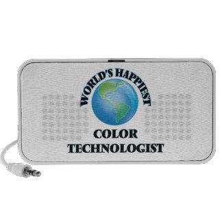 El tecnólogo más feliz del color del mundo altavoces