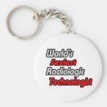 El tecnólogo radiológico más atractivo del mundo llaveros