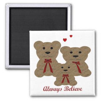 El Teddy de la bendición del oso cree siempre Imán De Nevera