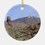 El Teide double-sided ornament