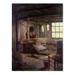 El tejedor bretón, 1888 postales