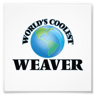 El tejedor más fresco del mundo cojinete