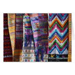 El tejer guatemalteco tarjeta de felicitación