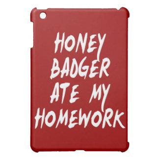 El tejón de miel comió mi preparación