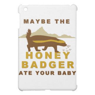 el tejón de miel comió quizá a su bebé