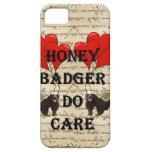 El tejón de miel cuida iPhone 5 Case-Mate carcasas