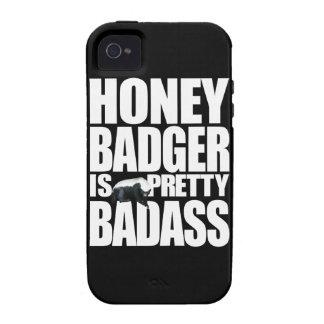 El tejón de miel es caso bonito del iPhone 4 de Ba Case-Mate iPhone 4 Fundas