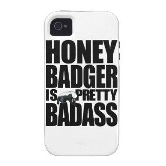 El tejón de miel es caso bonito del iPhone 4 de Ba iPhone 4/4S Carcasa