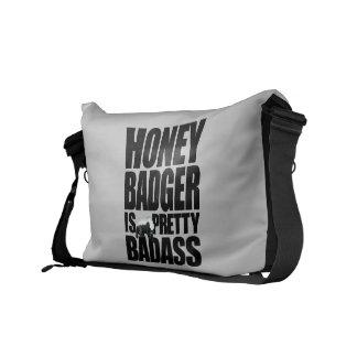 El tejón de miel es la bolsa de mensajero bonita d bolsa de mensajería