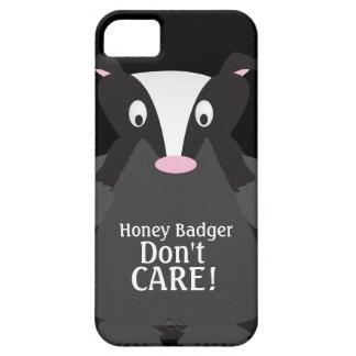 El tejón de miel no cuida el caso del iPhone 5 iPhone 5 Carcasas