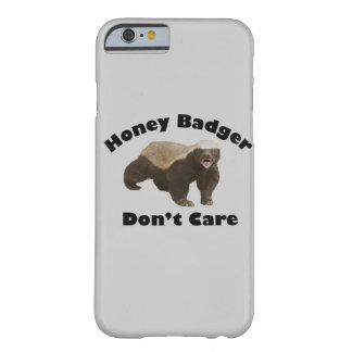 El tejón de miel no cuida el caso del iPhone 6