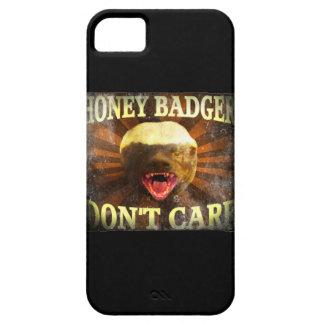 El tejón de miel no cuida el iPhone descolorado 5  iPhone 5 Case-Mate Carcasas