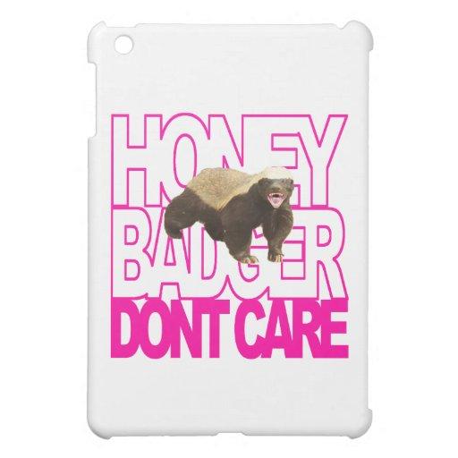 El tejón de miel no cuida rosa