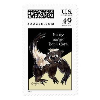 El tejón de miel no cuida sellos del dibujo animad