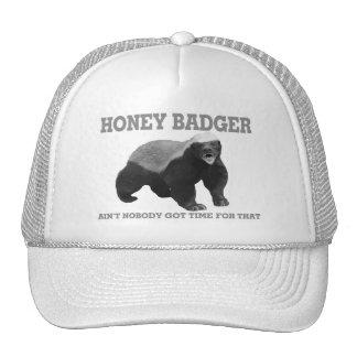 El tejón de miel no es nadie hora conseguida para gorra