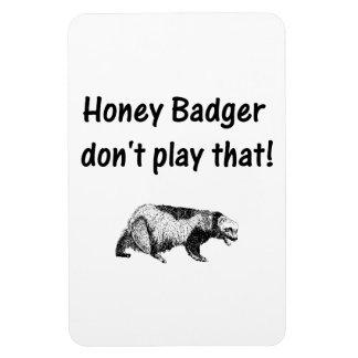 el tejón de miel no juega eso imanes de vinilo