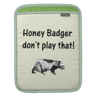 el tejón de miel no juega eso manga de iPad