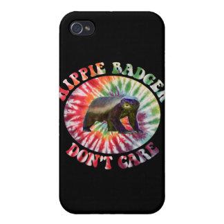 El tejón del Hippie no cuida iPhone 4 Cobertura