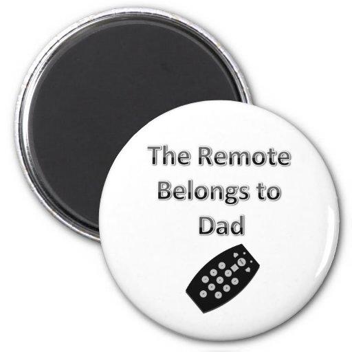 El telecontrol pertenece al papá imán redondo 5 cm