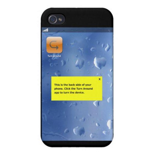 el teléfono cambia el app iPhone 4 fundas